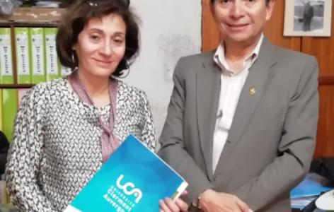 La UNSA recibe visita de la Universidad Clermont Auvergne (Francia)