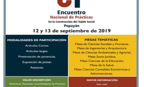 La Universidad de Popayán invita a REDISUR al II Encuentro Internacional de Prácticas Universitarias