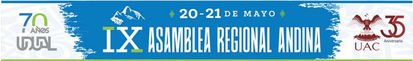 IX Asamblea Regional Andina de la UDUAL, se realizará en la UAC
