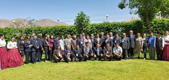 ASAMBLEA GENERAL ORDINARIA DE RECTORES 2019-II DE LA REDISUR-PERÚ